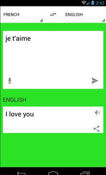 Traduction Français Anglais screenshot 2