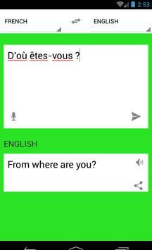 Traduction Français Anglais screenshot 3