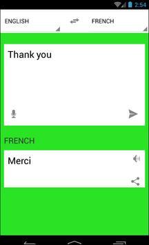Traduction Français Anglais screenshot 5