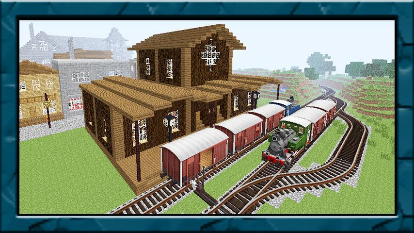New train mod for minecraft pe for Android - APK Download