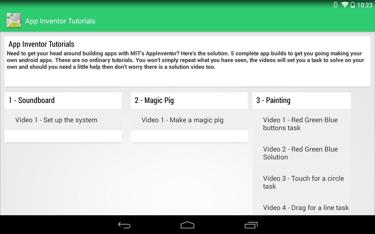 App Inventor 2 Tutorials FREE for Android - APK Download