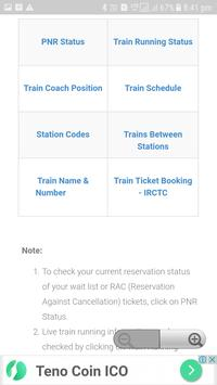 Trains PNR Status screenshot 7
