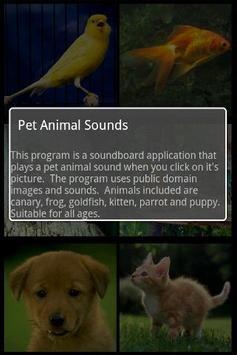 Pet Animal Sounds Free apk screenshot