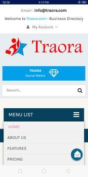 Traora screenshot 1