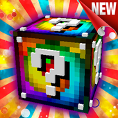 Lucky Block mod for Minecraft PE icon