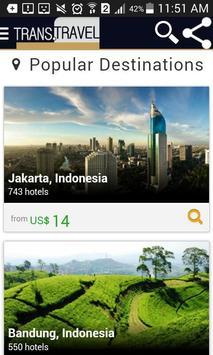 USA Cheap Flight Tickets & Hotel - Trans apk screenshot