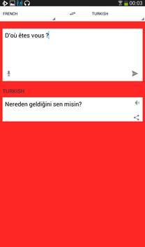Fransızca türkçe çeviri apk screenshot
