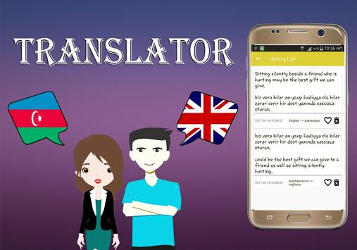 Azerbaijani To English Translator screenshot 13
