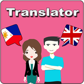 Filipino To English Translator icon