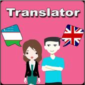 Uzbek To English Translator icon