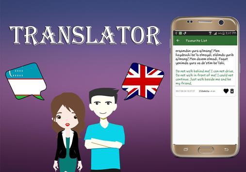 Uzbek To English Translator screenshot 9