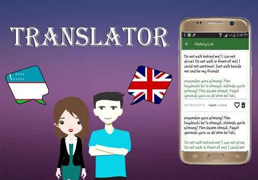 Uzbek To English Translator screenshot 3