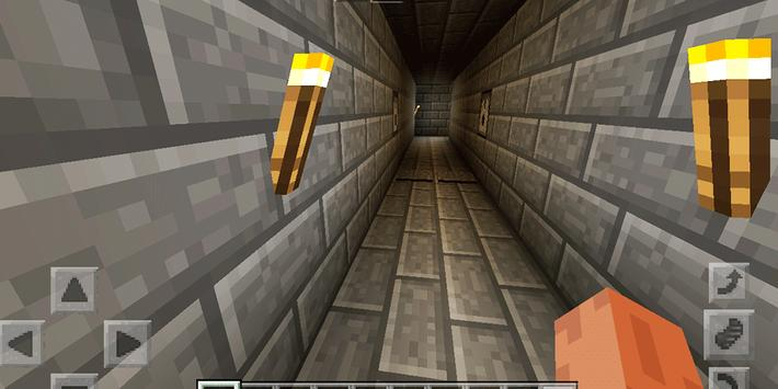 Pyramid of Traps. Map for MCPE screenshot 7