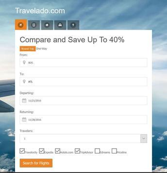 Cheap Flights and Hotels apk screenshot