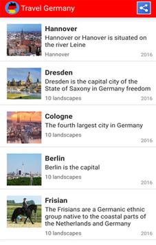 Travel Germany screenshot 8