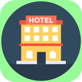 Cheap Hotel Booking Mobile App icon
