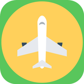 Flight Tickets Booking Mobile icon