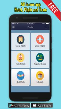 Flight Tickets Booking Mobile apk screenshot