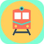 Train Ticket Booking App icon
