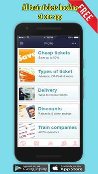 Train Ticket Booking App apk screenshot