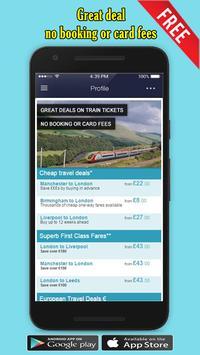 Train Ticket Booking Mobile 🚂 apk screenshot