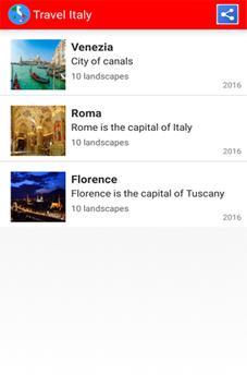 Travel Italia poster