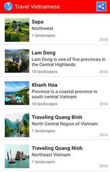 Travel Vietnamese poster