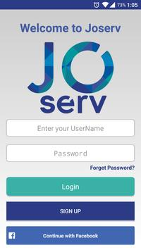 Joserv screenshot 1