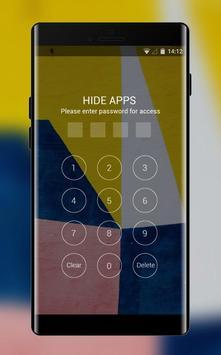 colorful shape art design theme screenshot 2