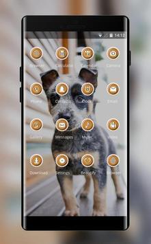 bright cute puppy pet theme screenshot 1