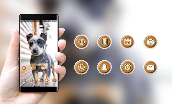 bright cute puppy pet theme screenshot 3