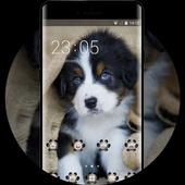 cute puppy pet theme emotion life pets icon