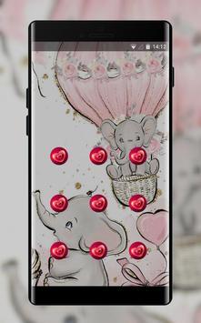 Elephant Drawings theme hand drawn screenshot 1