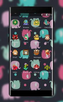 Girly Horse theme screenshot 1