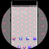 Girly Street art theme graffiti doodle technology icon