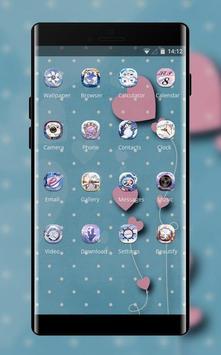 Girly Fantasy theme screenshot 1