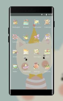 Girly Flower theme festival flame smolk hand drawn screenshot 1