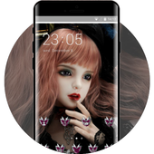 Doll Abstract theme art design steampunk icon