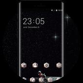 twinkle star universe interstellar dark theme icon