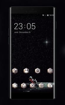 twinkle star universe interstellar dark theme poster