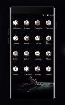 twinkle star universe interstellar dark theme screenshot 1