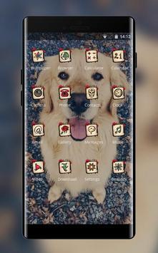 lovely puppy pet theme screenshot 1