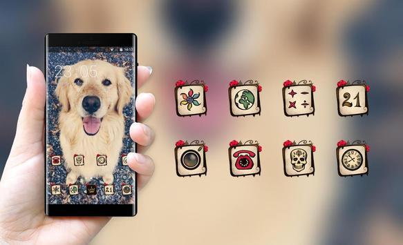 lovely puppy pet theme screenshot 3