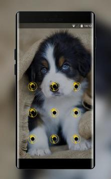 cute puppy pet lock theme emotion life pets screenshot 1