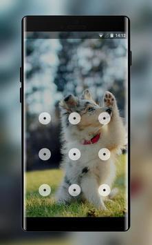 funny puppy lock theme screenshot 1
