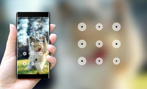 funny puppy lock theme screenshot 2