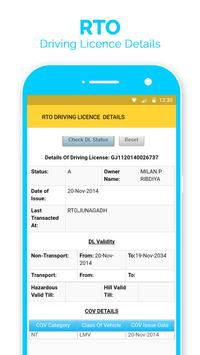 RTO Driving Licence Detail -Verify Driving Licence screenshot 3