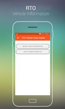 RTO Vehicle Information - VAHAN Registration Info poster