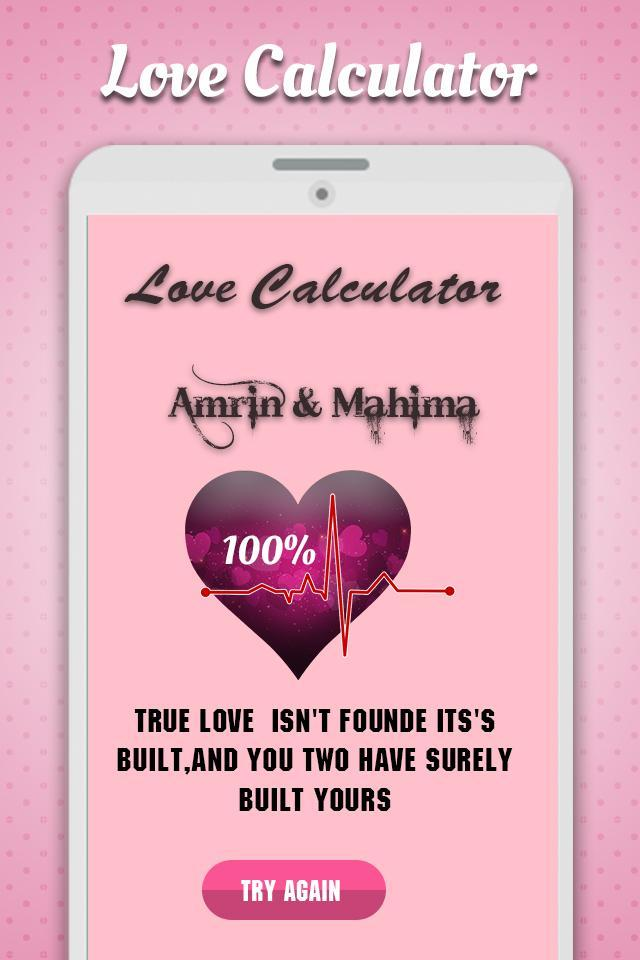 True Love Calculator for Android - APK Download