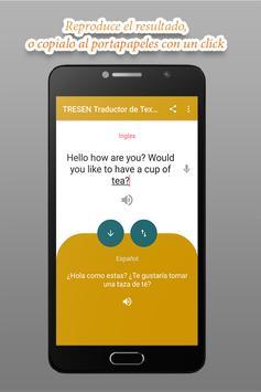 TRESEN Text and Voice Translator screenshot 2